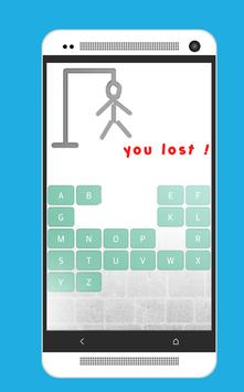 Crazy Hangman apk screenshot
