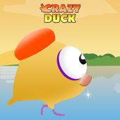 Crazy Duck Run ♛ Running Hero icon