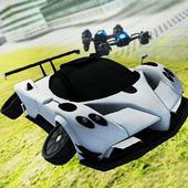 Flying Car Simulator 3D icon