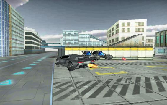 Flying Car Simulator 3D screenshot 11