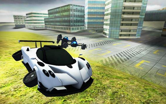 Flying Car Simulator 3D screenshot 16