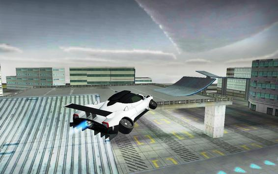 Flying Car Simulator 3D screenshot 17