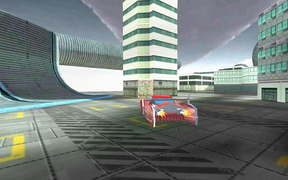 Flying Car Simulator 3D screenshot 7