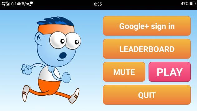 Crazy Runner screenshot 1