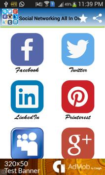 Social Networking All In One poster