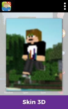 skin minecraft 3d pro screenshot 4