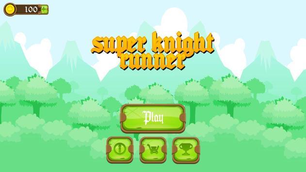 Super Knight Runner poster