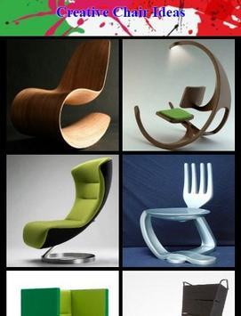 Creative Chair Ideas poster