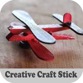 Creative Craft Stick icon