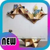 Creative Book shelf Ideas icon