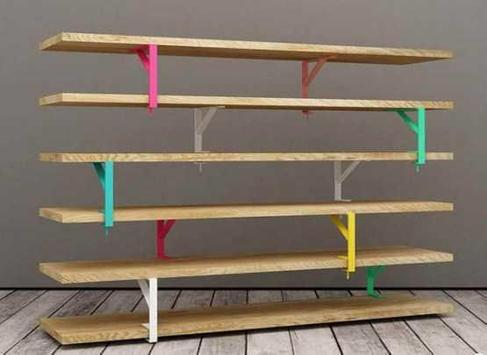 Creative Bookshelves DIY poster