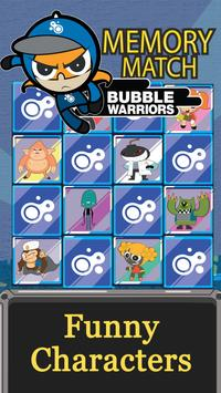 Bubble Warriors Memory Match apk screenshot