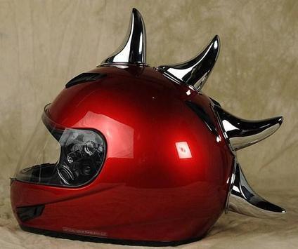 Creative Helmet Design poster