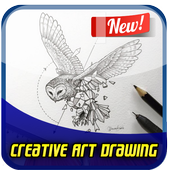 Creative Art Drawing Ideas icon