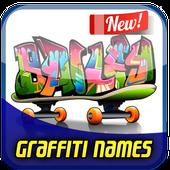 Draw Graffiti Names icon