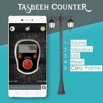 Tasbeeh Counter 2020 - Muslim Tasbih & Dhikr App poster