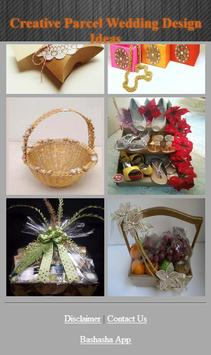 Creative Parcel Wedding Design Ideas apk screenshot