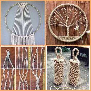 Creative Rope Art Ideas apk screenshot