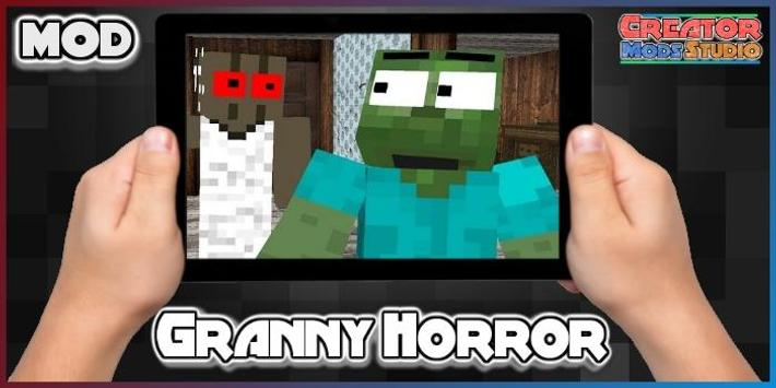 Granny Horror Skins Pack For MCPE For Android APK Download - Skins para minecraft pe terror