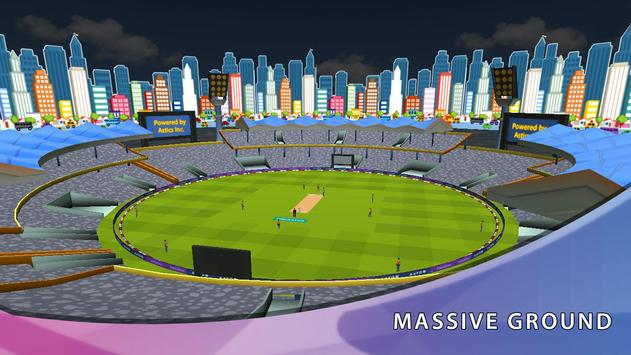 CricAstics 3D Multiplayer Cricket Game apk screenshot