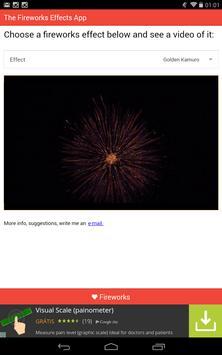 Fireworks Effects screenshot 1