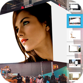 Photo Frames: Billboard icon