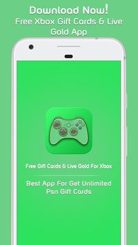 Free Xbox Live Gold & Xbox Gift Cards الملصق ...