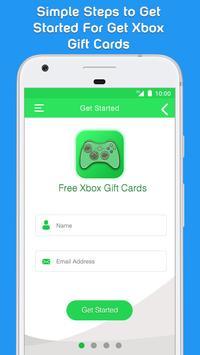 ... Free Xbox Live Gold & Xbox Gift Cards apk screenshot ...