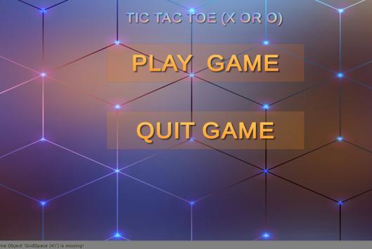 Tic tac toe screenshot 1