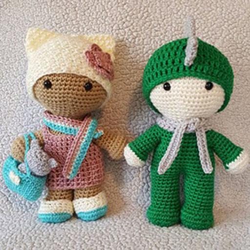 Crochet Amigurumi - 225 Free Crochet Amigurumi Patterns - DIY ... | 512x512