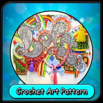 Crochet Art Pattern poster