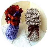 Crochet Baby Booties Designs icon