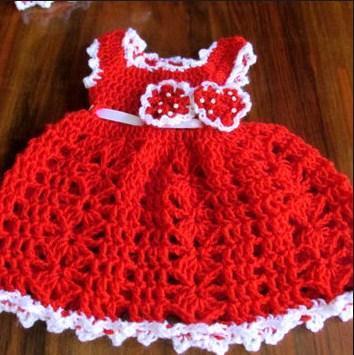 Crochet Baby Dress screenshot 7