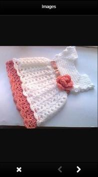 Crochet Baby Dress Ideas poster