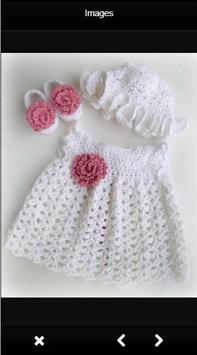 Crochet Baby Dress Ideas apk screenshot