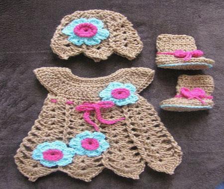 Crochet Bébé Robe Pour Android Téléchargez Lapk