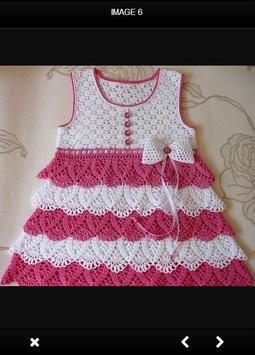 Crochet Baby Dress poster