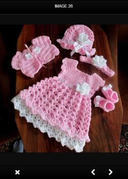 Crochet Baby Dress screenshot 1
