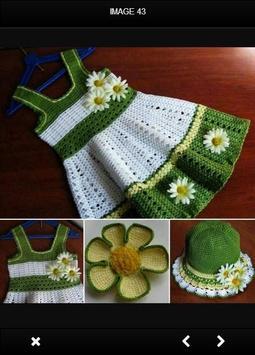 Crochet Baby Dress screenshot 2