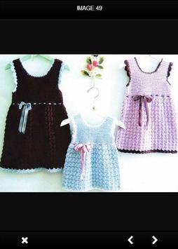 Crochet Baby Dress screenshot 3