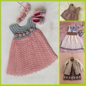 Latest Baby Knitting Dress Ideas icon