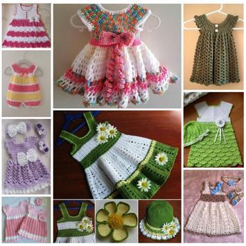 Latest Baby Knitting Dress Ideas screenshot 3