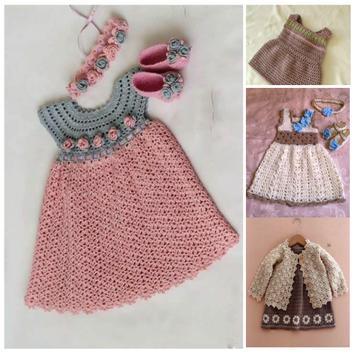 Latest Baby Knitting Dress Ideas poster