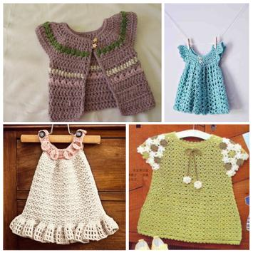 Latest Baby Knitting Dress Ideas screenshot 1