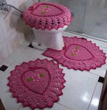 Crochet Bath Set Decorations poster