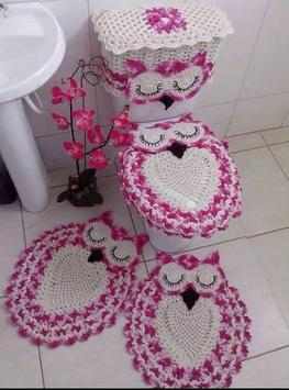 Crochet Bath Set Decorations apk screenshot