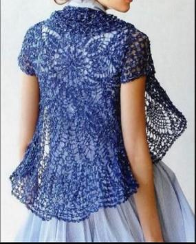 Crochet Bolero Design screenshot 15