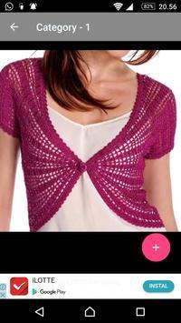 Crochet Bolero Design screenshot 29