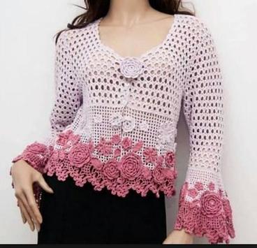 Crochet Bolero Design screenshot 30