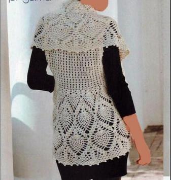 Crochet Bolero Design screenshot 6